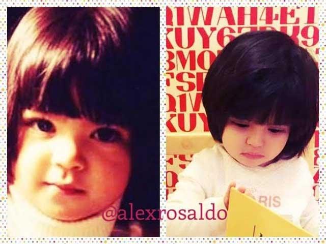 Alessandra demuestra que Aitana se parece más a ella que a Eugenio Derbez