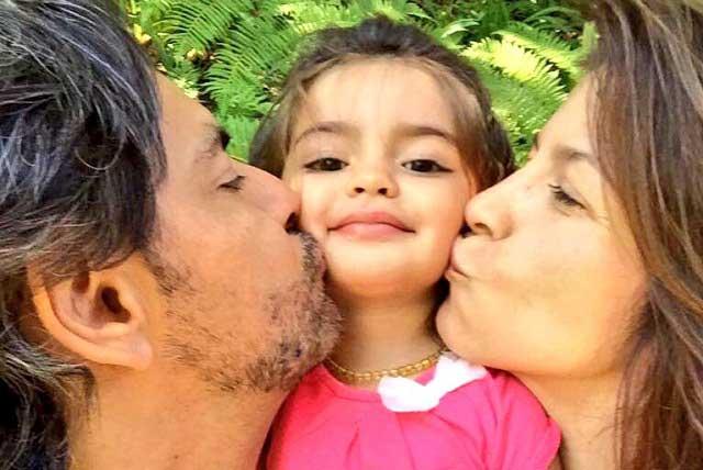 Hija de Eugenio Derbez y Alessandra Rosaldo cumple tres años