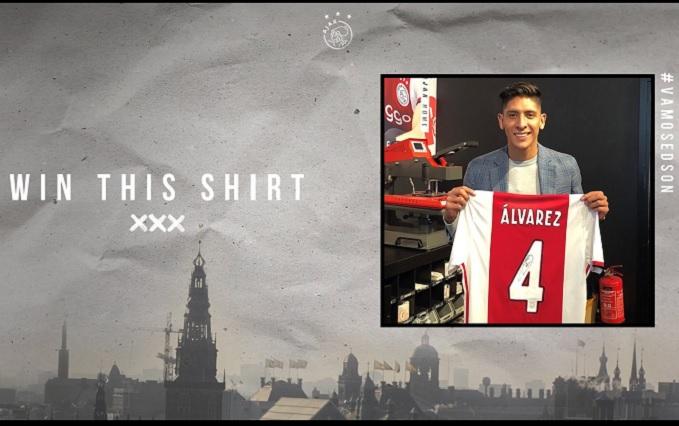 Ajax recibe a Edson Álvarez con emotivo video: Bienvenido a tu futuro