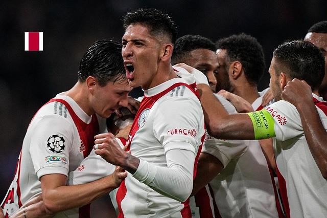 Edson y el Ajax aplastan a Dortmund en Champions, aun con Haaland