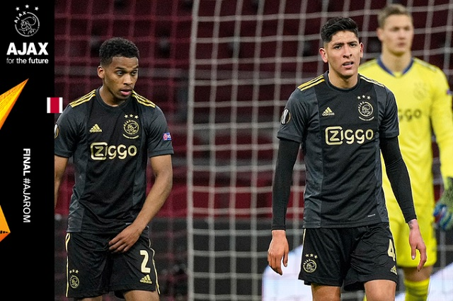 Ajax y Edson Álvarez dejan ir la ventaja en Europa League