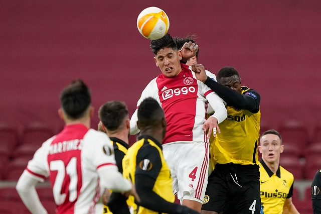 Destaca Edson Álvarez durante victoria del Ajax en Europa League