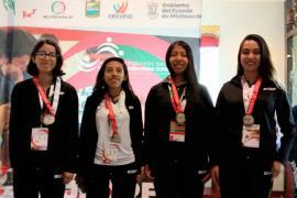 Medallas para alumnas BUAP en Juegos de la Educación Media Superior