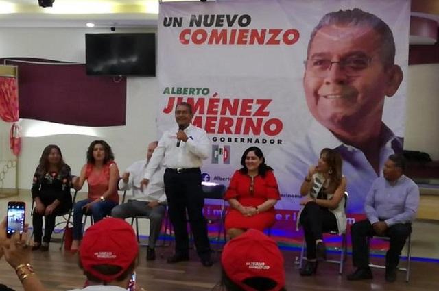 Ruiz Massieu vendrá a Puebla el viernes con Jiménez Merino