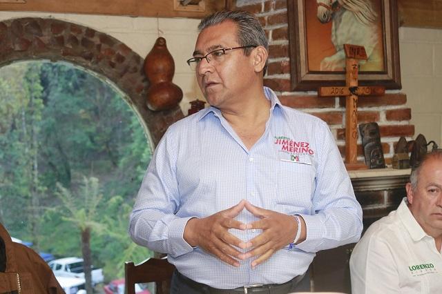 Cada quien debe responder por sus actos, dice Jiménez sobre Marín