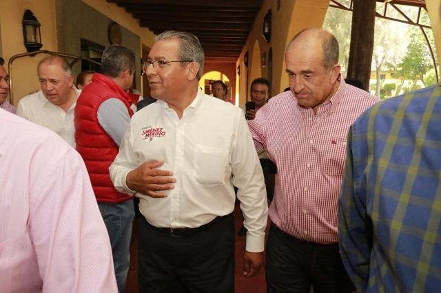 Pide Jiménez Merino prevenir violencia el día de la elección