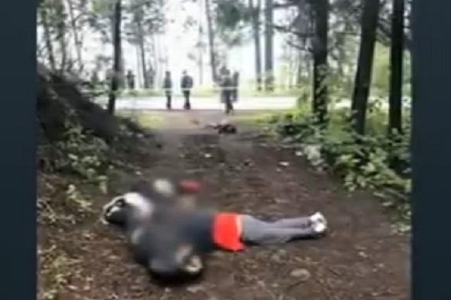 Hallan 4 cadáveres maniatados en la zona del Ajusco