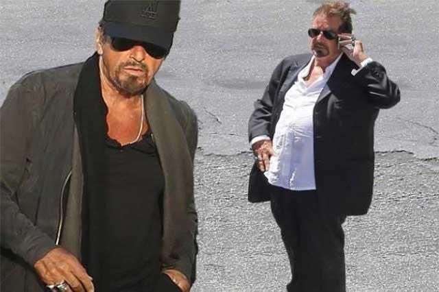 Al Pacino sorprende al aparecer con sobrepeso