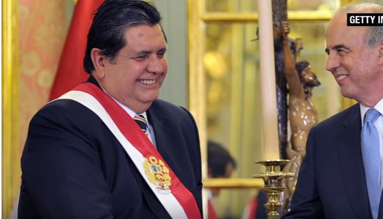 Lamenta AMLO suicidio de Alan García, ex presidente de Perú