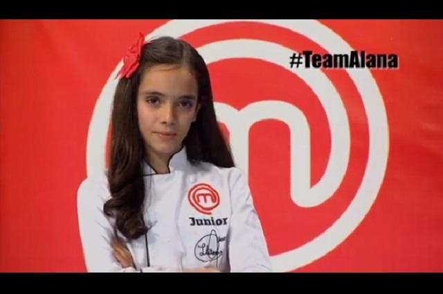 Alana, ganadora de Master Chef Junior, niega ser sobrina de Anette Michel