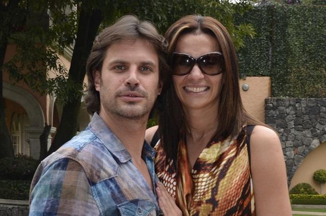 Desmienten romance entre Mark Tacher y Cecilia Galliano
