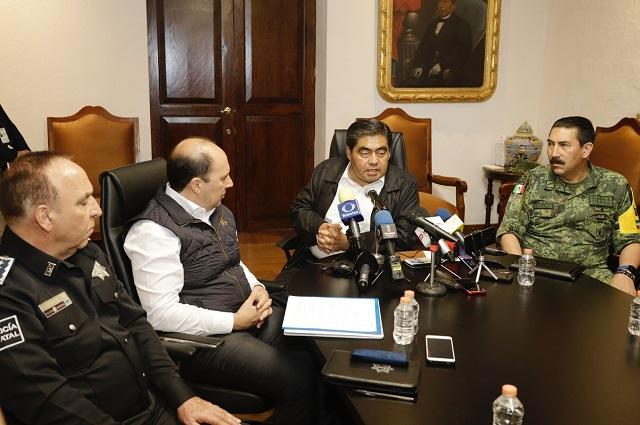 Puebla será segundo lugar con más alarmas sísmicas: Barbosa
