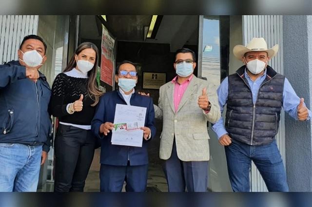 Álvaro Alatriste busca por segunda vez alcaldía de Tehuacán