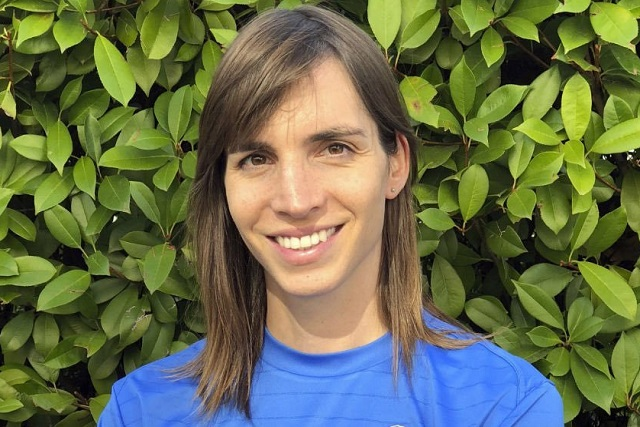 Alba Palacios, la primera mujer trans en jugar futbol en España