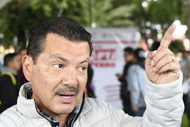 Alberto Arriaga dice ser blanco de un golpeteo político