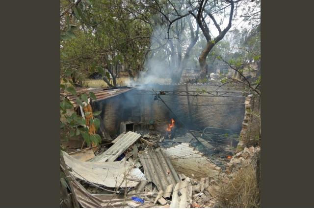 Explota polvorín en Xiutetelco y deja 2 muertos