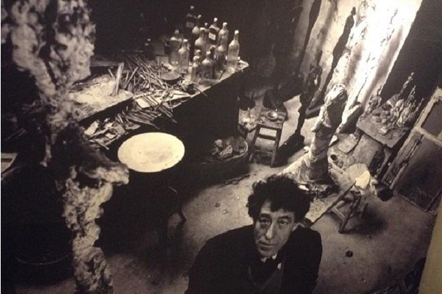 Alberto Giacometti en su atelier
