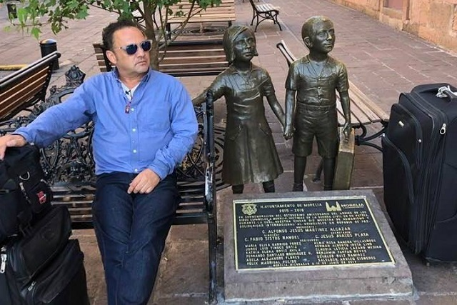 Hijo de Juan Gabriel ebrio dice que su padre era bien malo