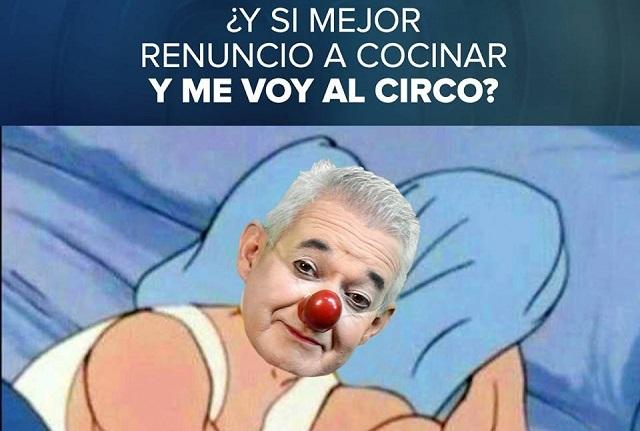 Alberto Stanley, el payaso triste de MasterChef México