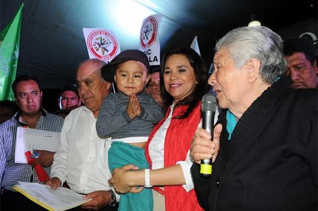 Regresar el Registro Civil a juntas auxiliares, plantea Blanca Alcalá