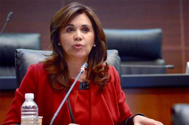 Solicita Alcalá licencia al Senado para ser ratificada como embajadora