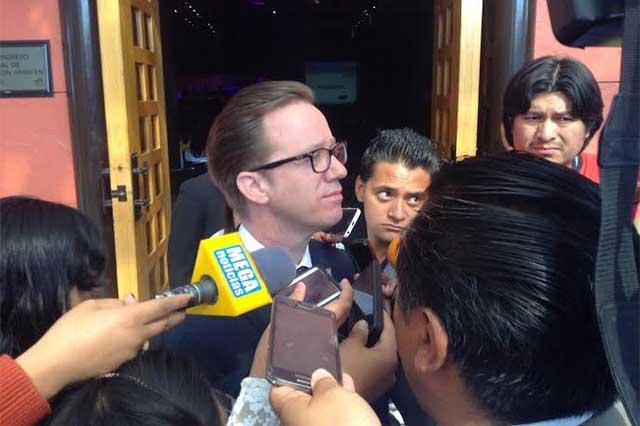 Acuerda alcalde  de Puebla trabajo conjunto con edil auxiliar de Canoa