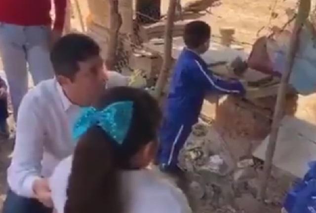 Alcalde de Morena humilla a niña frente a sus compañeros