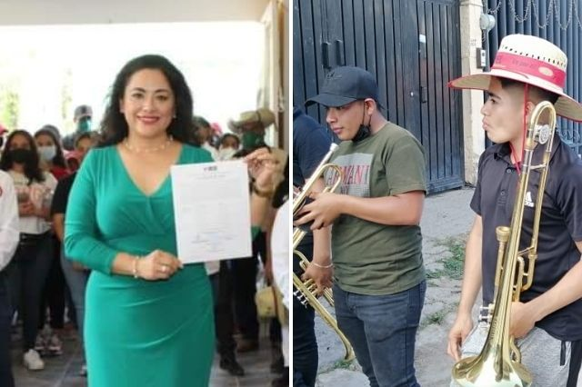 Petlalcinguenses ratifican el apoyo a la familia Vergara Tapia