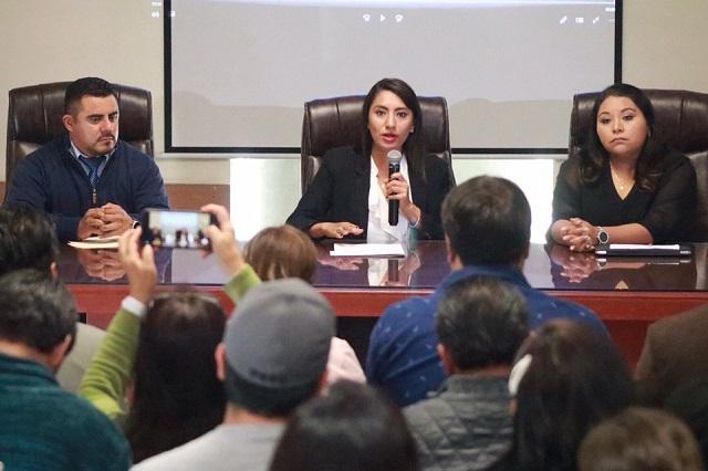 Alcaldesa de Huejotzingo activa nuevo Sistema de Alerta Vecinal