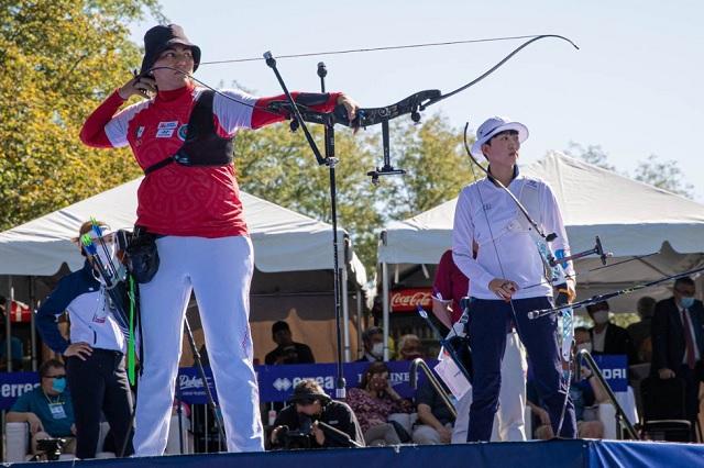 Alejandra Valencia es cuarto lugar en Mundial de Tiro con Arco