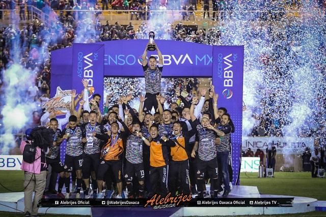 Alebrijes de Oaxaca es el nuevo campeón del torneo Ascenso MX