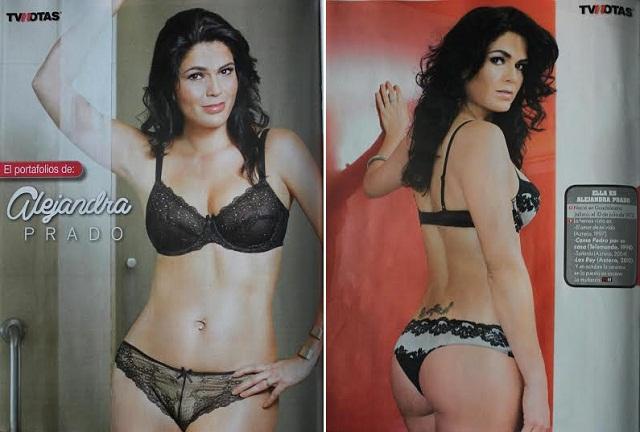 Alejandra Prado luce muy sensual a sus 42 años