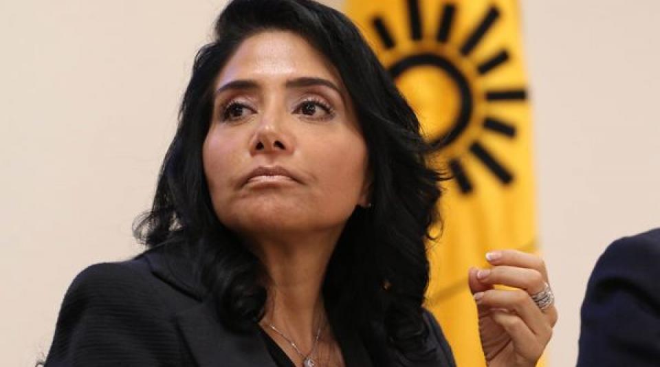TEPJF ordena a Alejandra Barrales separarse de la dirigencia del PRD