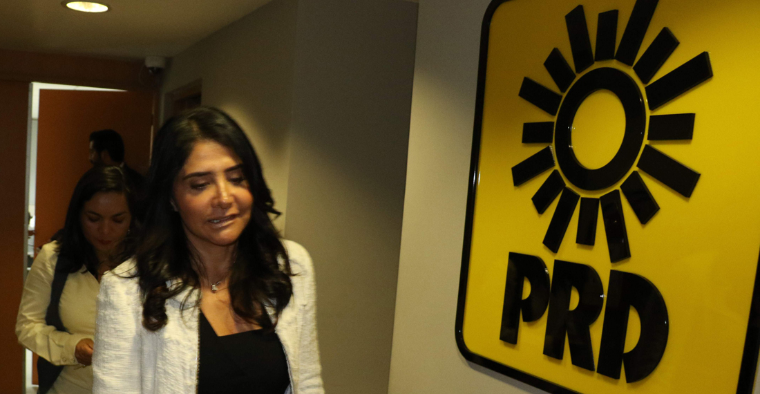 Perredistas van contra Barrales por ser presidenta del PRD y senadora