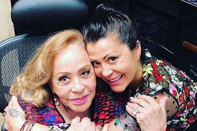 Alejandra Guzmán aclara estado de salud de Silvia Pinal
