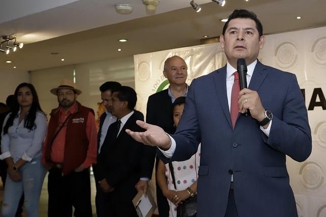 Acusa Armenta que PRI-MOR de Puebla busca frenarlo