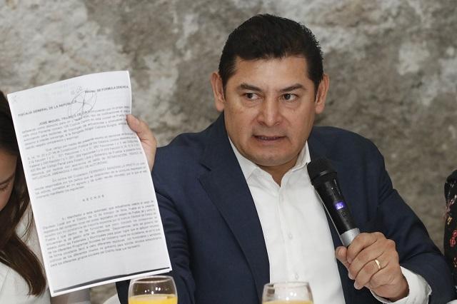 Armenta vuelve a impugnar candidatura de Barbosa ante TEPJF