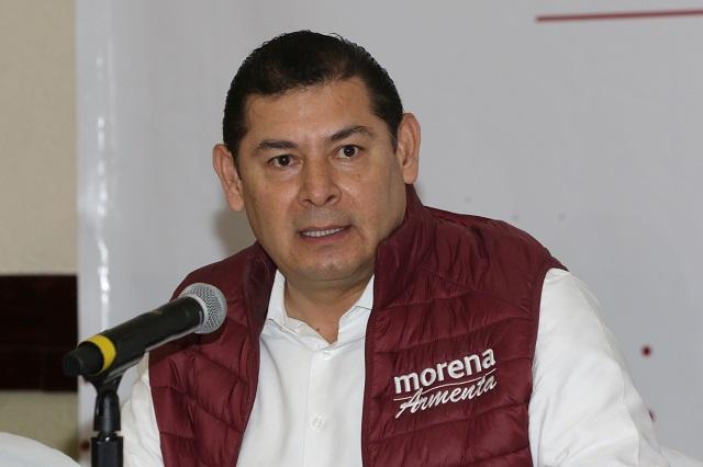 El senador poblano Alejandro Armenta da positivo a Covid-19