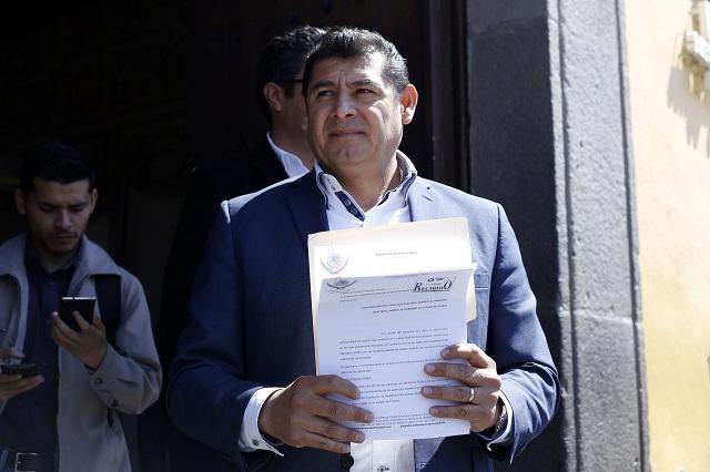 Privatizar el agua, una maquinación de RMV, acusa Alejandro Armenta