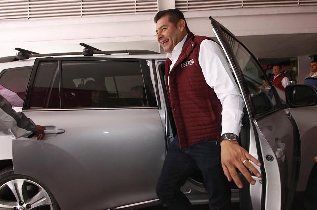 Armenta apoyará a candidatos de Morena y rechaza volver al PRI