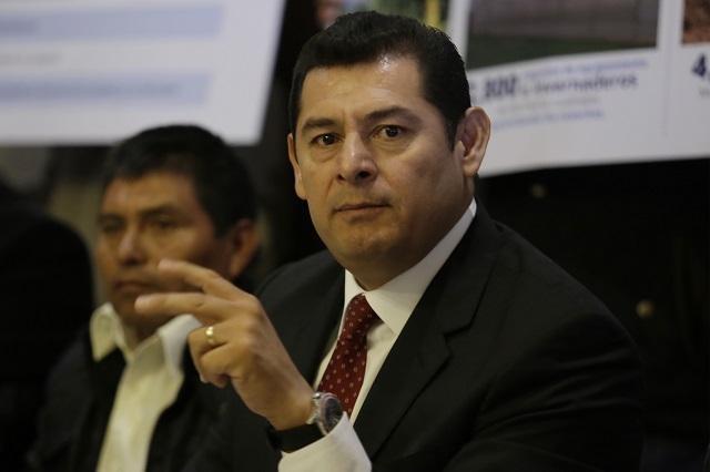 Moreno Valle, culpable del alza de 400% al agua: Armenta