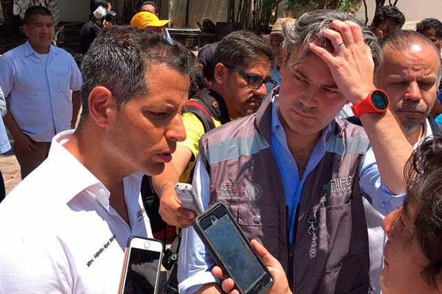 La CNTE acusa que los funcionarios sólo fueron a Oaxaca a tomarse la foto