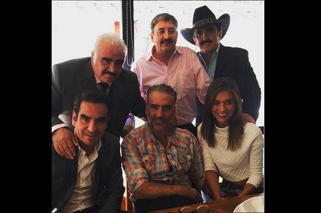 Alejandro Fernández y Karla Laveaga juntos otra vez