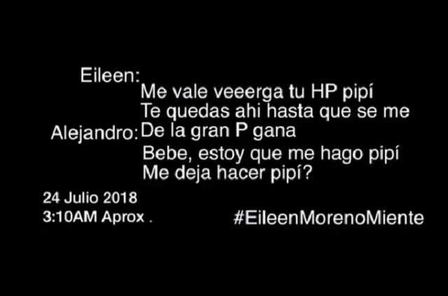 Actor que habría golpeado a Eileen Moreno se defiende con polémico audio