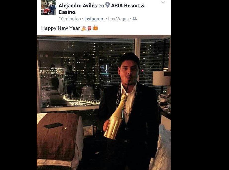 Viaje de hijo de diputado del PRI a Las Vegas indigna en redes