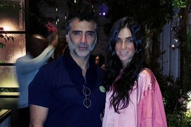 Alejandro Fernández celebra cumpleaños de Karla Laveaga