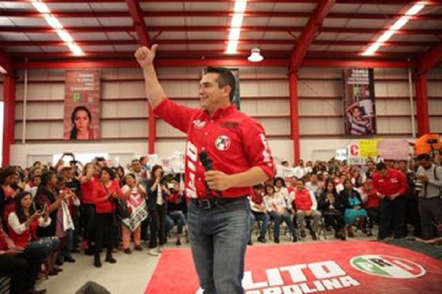 Gana Alito Moreno la presidencia del PRI con un millón 693 mil votos
