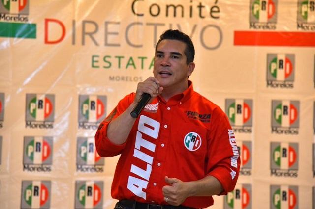 Tendencias nos favorecen, dice Alito Moreno en elección del PRI