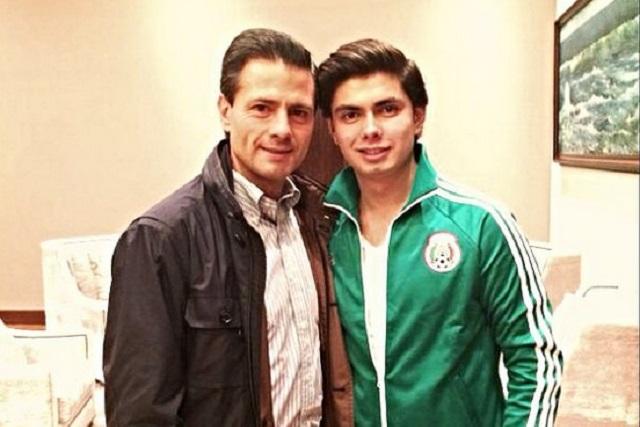 Alejandro Peña a EPN: me siento orgulloso de llamarte papá