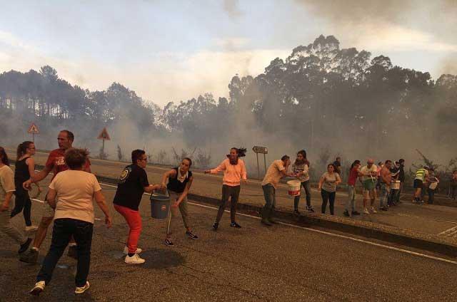 Famosos consternados por incendios en Galicia, Asturias y Portugal